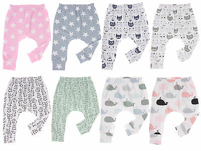 Baby Boys/Girls Harem Leggings 0-24 Months New Season Prints