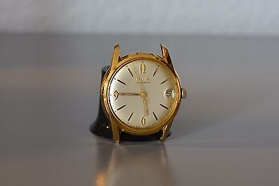 ,,AVIA'' Men's Vintage Watch.Swiss Made.Gold plated ! Read description, please !