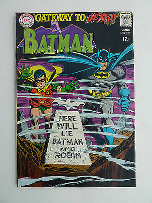 Batman #202 FN - 1967. REDUCED!