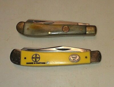 Lot of 2 used pocket knives