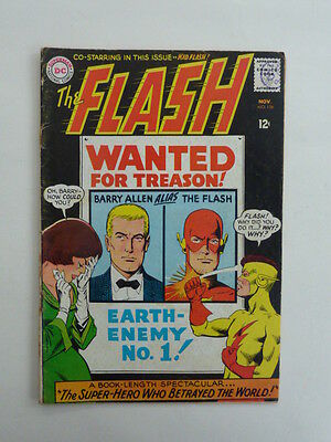 The Flash #156 FN - 1965. The issue with Kid Flash