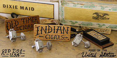 Cigar Box Guitar Pickup ~ INDIAN Cigars ~ for 3 or 4 string CBG Disc building