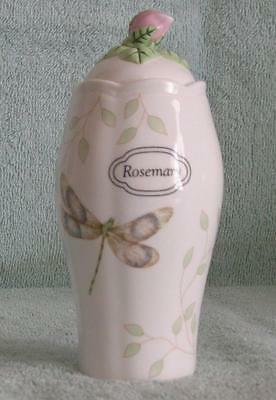 Rosemary Spice Jar Butterfly Meadow With Lid