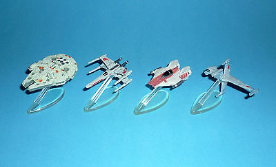 STAR WARS Micro Machines - REBELS SPACESHIPS / VEHICLES lot - A,B,X-Wing Falcon