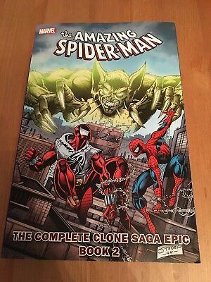 Spider Man TPB. The Complete Clone Saga Epic Book 2! Marvel Trade