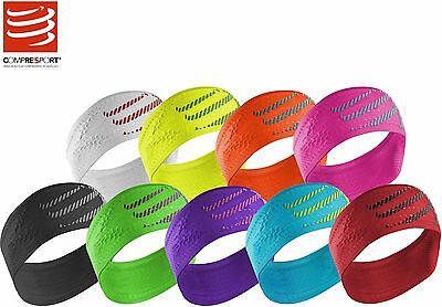Headband OnOff Seamless Compressport Stirnband Schweißband Triathlon Running