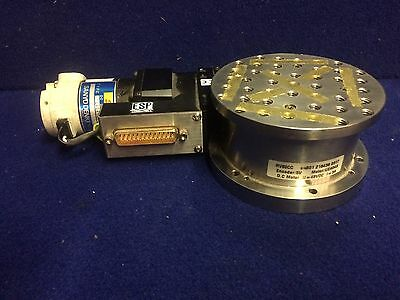 NEWPORT RV80CC Motorized goniometer rotary stage,360 degree Working.