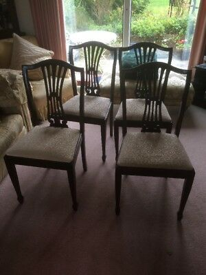 4 Reproduction Dining Room Chairs