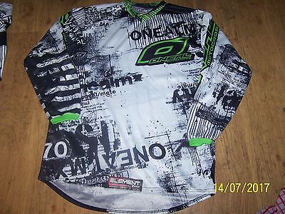 """O'Neal element series"" mens motocross jersey size L"