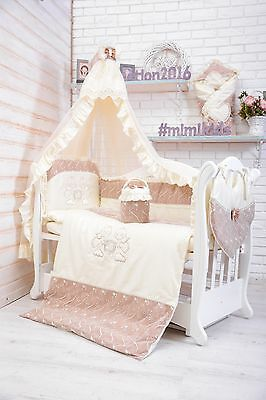 Baby Nursery Bedding Set FOR COT PILLOW DUVET COVE Luxury Style 120x60