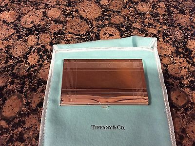 Tiffany & Co Sterling Silver Bussiness Card Holder
