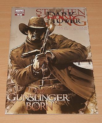 Stephen King Dark Tower: Gunslinger Born #5 (1:25 Variant / Movie / NM / 2007)