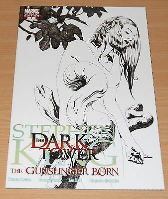 Stephen King Dark Tower: Gunslinger Born #5 (1:75 Variant / Movie / NM / 2007)