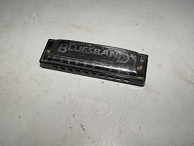 Vintage Hohner Bluesband Harmonica G In Great Condition Plays Good