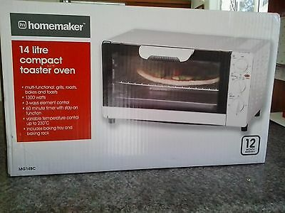 14 Litre Compact Toaster Oven