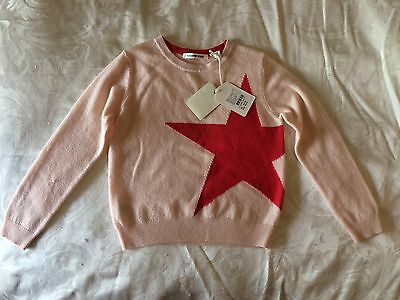 BNWT Country Road Girls Star Knit Pullover / Sweater / Jumper RRP $59.95