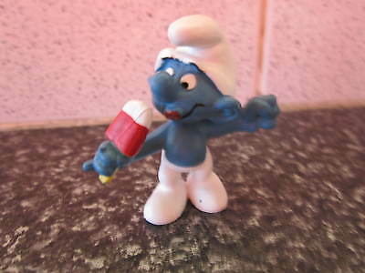 Smurf Ice Lolly Smurf vintage Rare