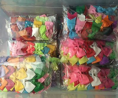 93 Pcs Mix Lots Headband Baby Infant Toddler Girls Hair bow Headwear ---8 Styles