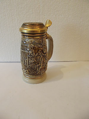 Vintage 1987 Avon Products The Gold Rush Stein