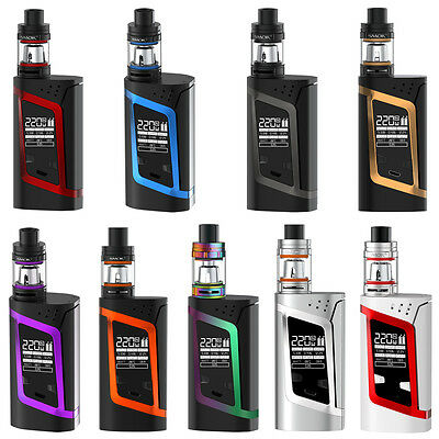 Smok Alien Kit - 220W Temperature Control Mod with TFV8 Baby Tank + Coils - TPD