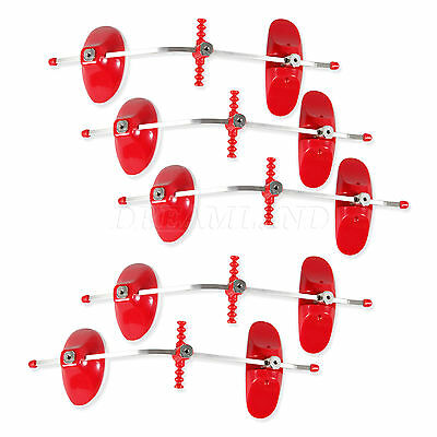5X Red Dental Orthodontic Ortho Face Mask Forward pull Facemask Single Bars D.DS