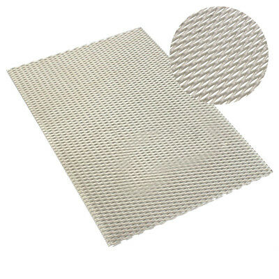 """Titanium Mesh Perforated Plate 7.87"""" x 11.81"""" long Metal Expanded 200mm x 300mm"""