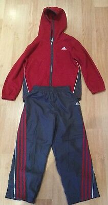Adidas Boys Tracksuit/Size 6/Very Good condition