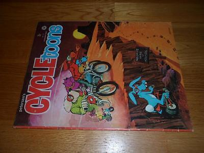 Peterson's CYCLEtoons Lot of 6 Issues INCLUDING #1 & #2 - All Complete VG+ to VF