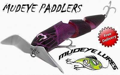 Mudeye Triple Paddler Timber Snake Fishing Lures 220mm