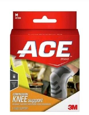 Ace Compression Knee Support- Medium 207304