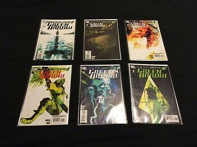 Green Arrow Year One Lot - Complete Mini Series Set # 1-6