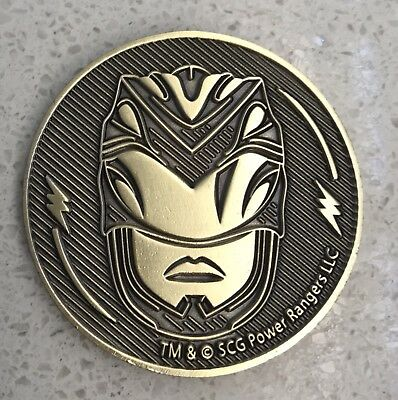 Sabin's Power Rangers 2017 Double Sided Coin