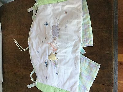Pooh Bear Cot bumper from UK label Mothercare in excellent condition