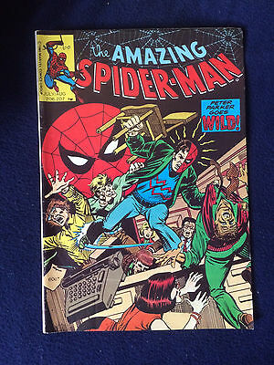 the amazing Spider-man 206 207 page publications australian reprint