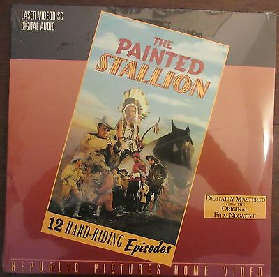 The Painted Stallion (1937) - USA New (Sealed) Laserdisc - Republic serial