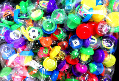 """A 100 pc 1"""" Toy filled vending capsules mix prizes birthday party favor Carnival"""
