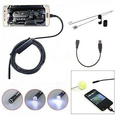 Micro Endoscope Android Usb Waterproof Camera Inspection Borescope PCVideo Scope