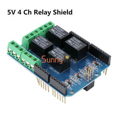 Arduino Relay Shield 5V 4 Channel Relay Módulo Four Channel for Arduino UNO R3