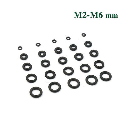 M2/3/4/5/6 O-ring Shockproof Absorber NBR Rubber Oil Resistant Sealing Rings