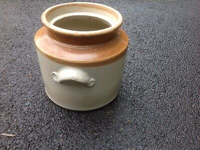 Vintage Glazed Stoneware / Earthenware Pot
