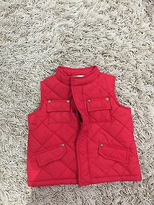 Bebe By Minihaha Puffer Vest Boy Girl Size 1