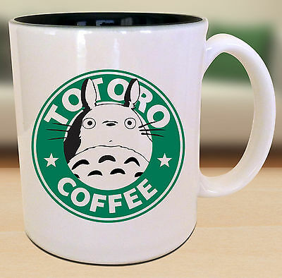 Totoro Starbucks Anime Manga Japanese Insipred Cartoon Geek Nerd Mug