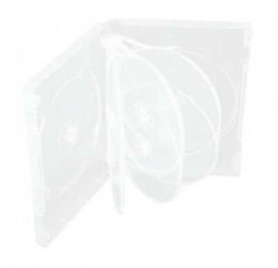 25 Clear 8 Disc DVD Cases
