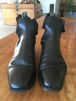 Rm Williams Craftsman Boots. Size 11 G Cf. Black. Very Good Condition.
