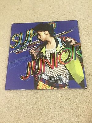 Super Junior Sungmin Mr Simple Type A