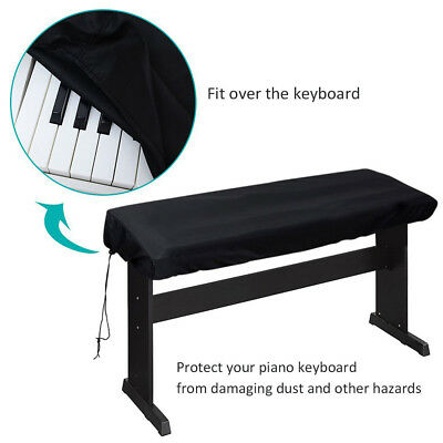88 Key Electronic Piano Dust Cover with a Drawstring Protective Piano Keyboard