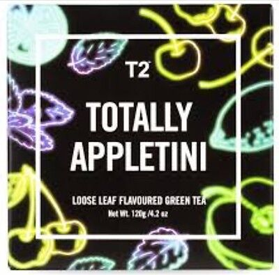 APPLETINI TEA COCKTAIL STYLE TOO LEMON 2 Hot Cold Large Limited Edition T