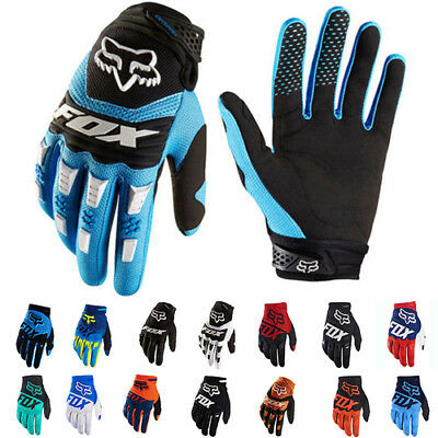 70Color FOX Full Finger Cycling Bike Motorcycle Motorcross Offroad Sports Gloves