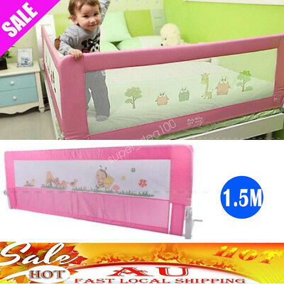 1.5M Children Protection Safety Security Guard Toddler Bed Rail Baby Bedrail AU