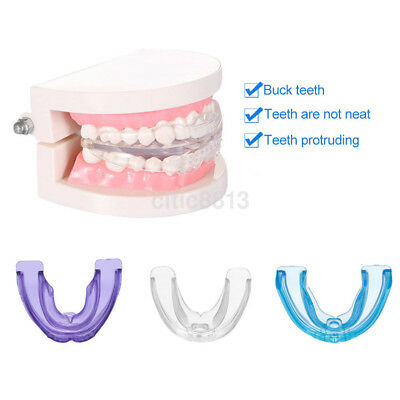 Kids Adult Tooth Orthodontic Appliance Trainer Alignment Mouthpiece Dental Care